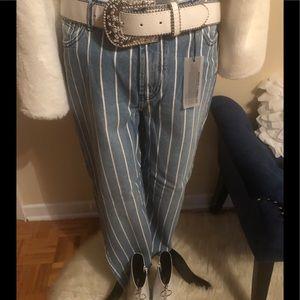 BUFFALO Richie white striped jeans
